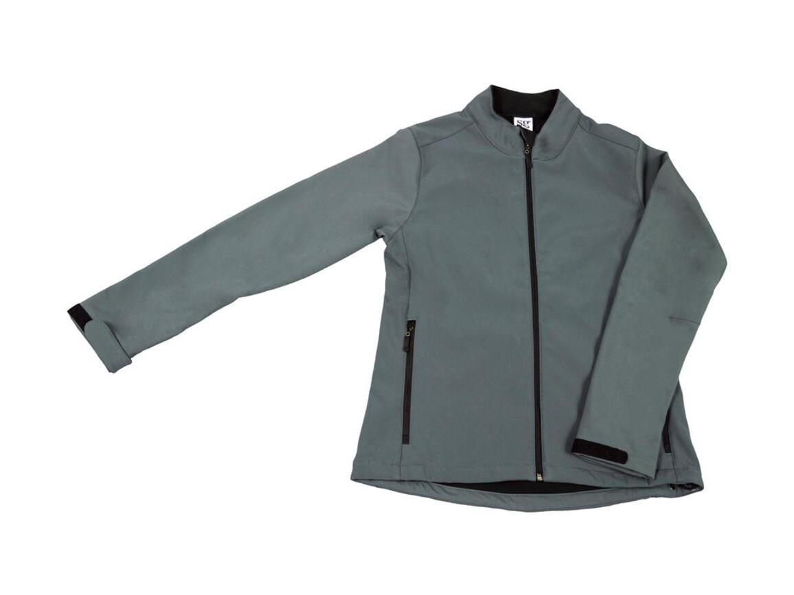 SG Softshell Ladies, Grey, L bedrucken, Art.-Nr. 462521215