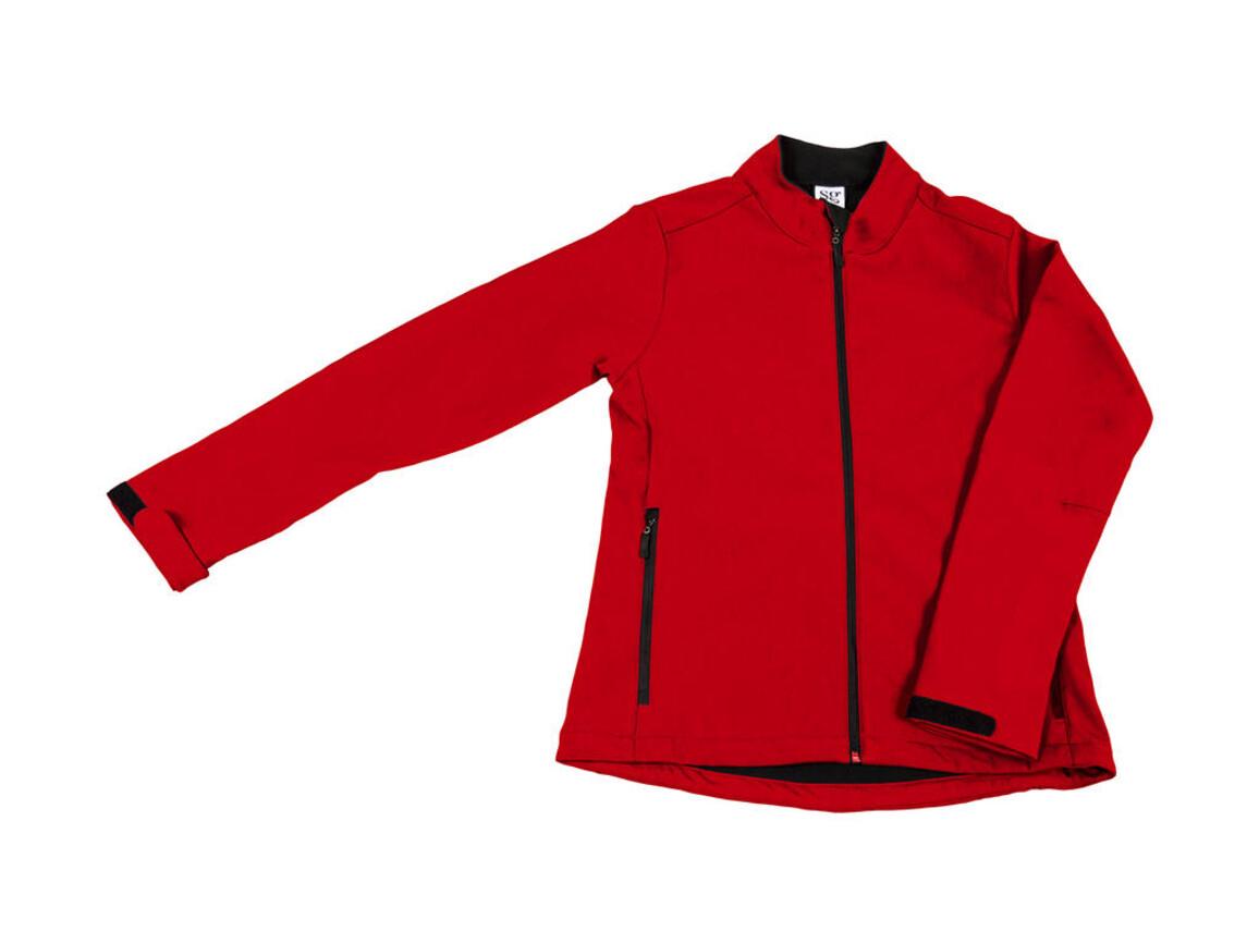 SG Softshell Ladies, Red, XL bedrucken, Art.-Nr. 462524006