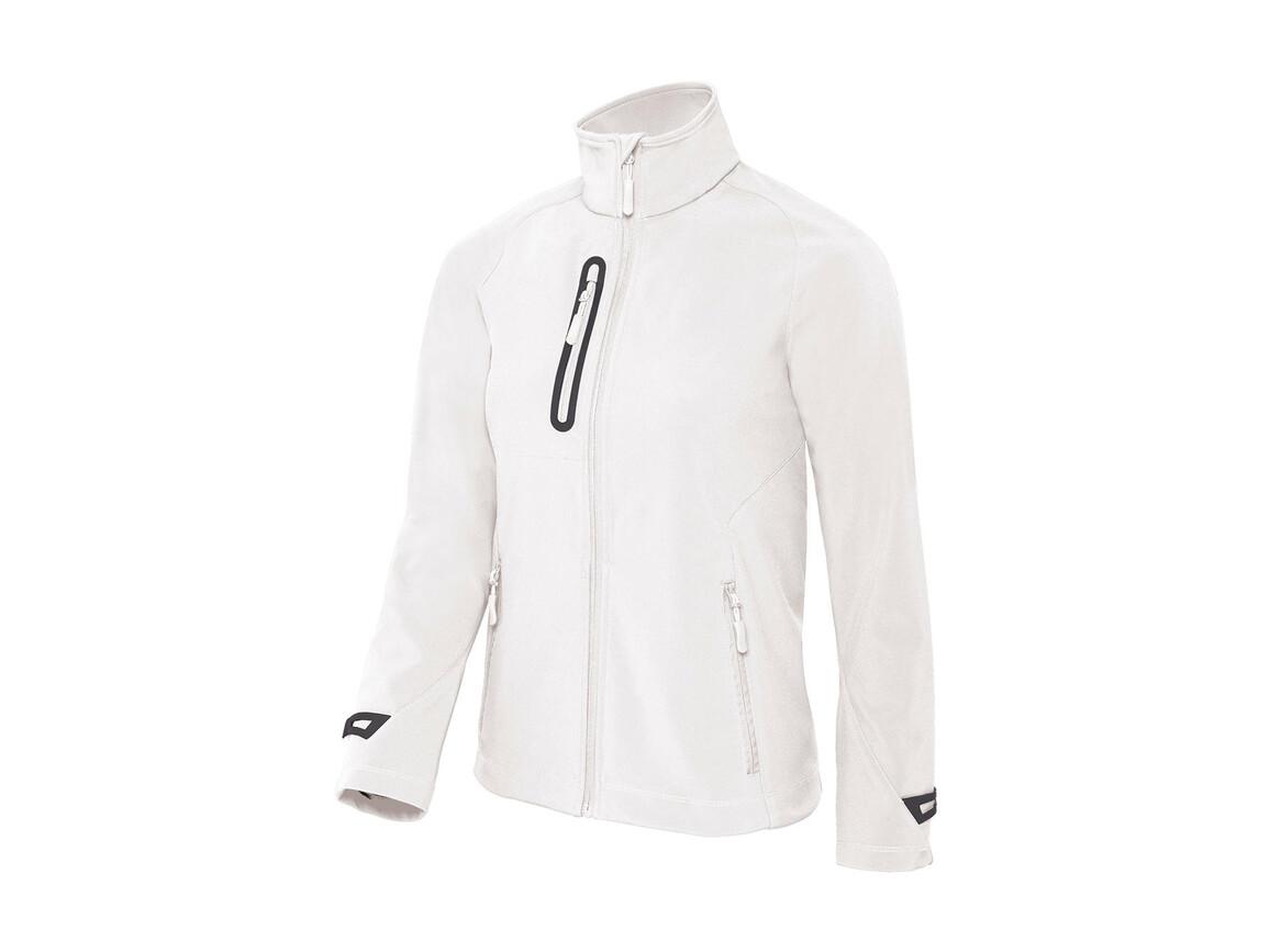 B & C X-Lite Softshell/women Jacket, White, L bedrucken, Art.-Nr. 464420005