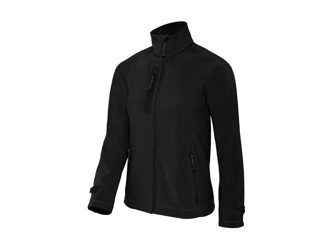 B & C X-Lite Softshell/women Jacket, Black, XL bedrucken, Art.-Nr. 464421016