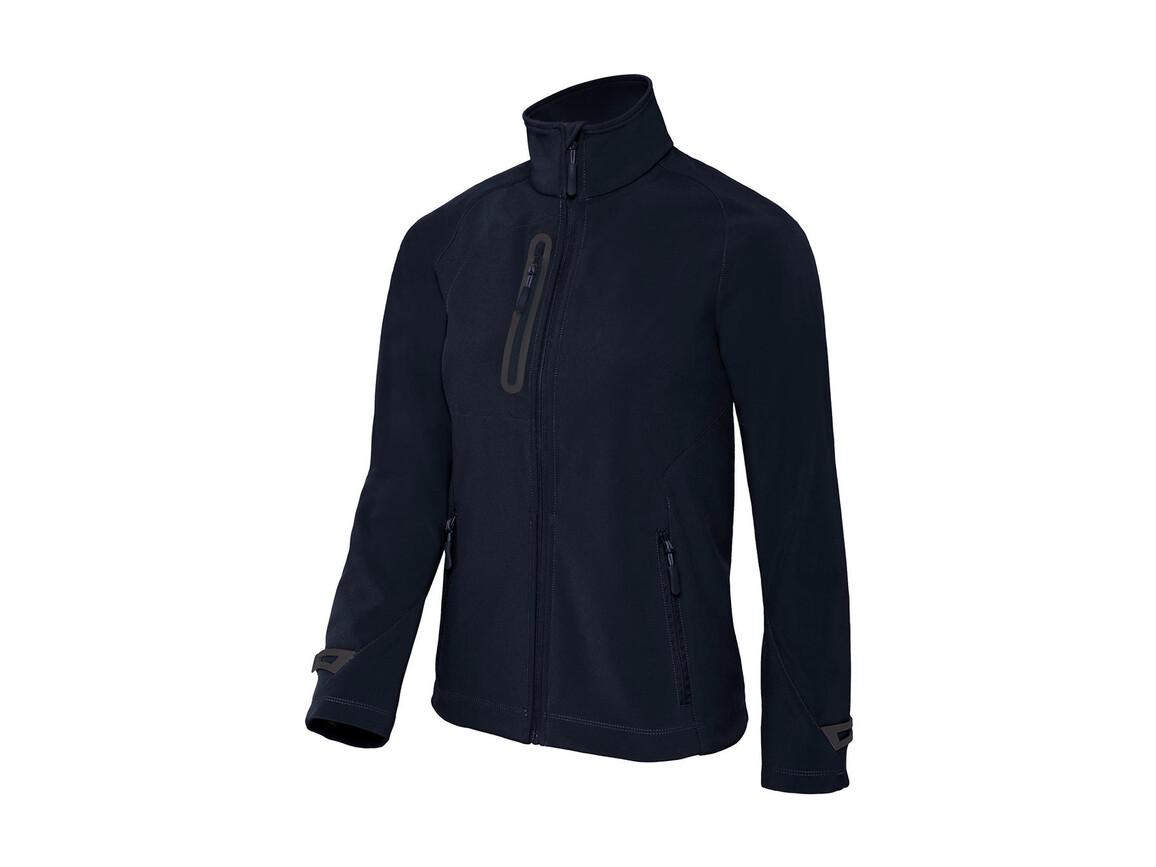 B & C X-Lite Softshell/women Jacket, Navy, S bedrucken, Art.-Nr. 464422003
