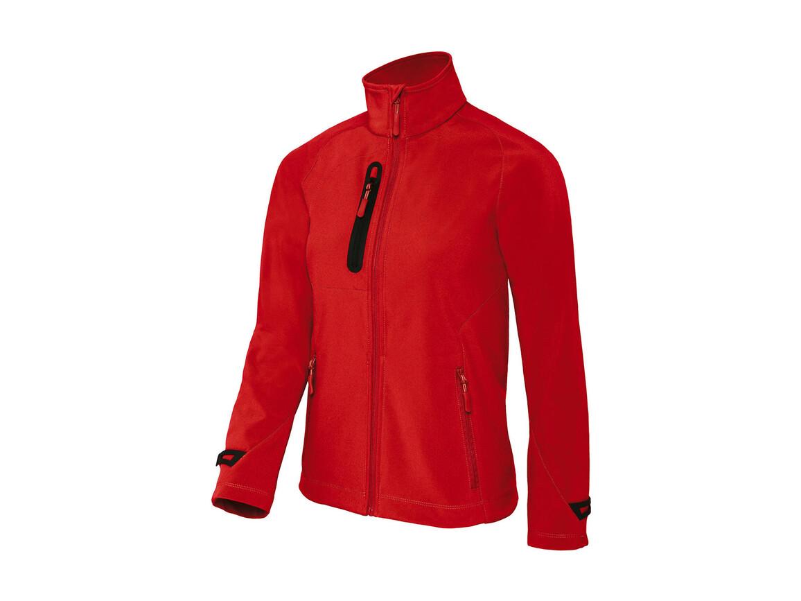B & C X-Lite Softshell/women Jacket, Deep Red, M bedrucken, Art.-Nr. 464424064