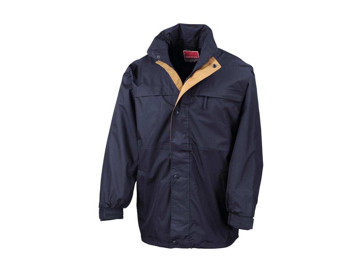 Result Mid-Season Jacket, Navy/Sand, 3XL bedrucken, Art.-Nr. 467332438