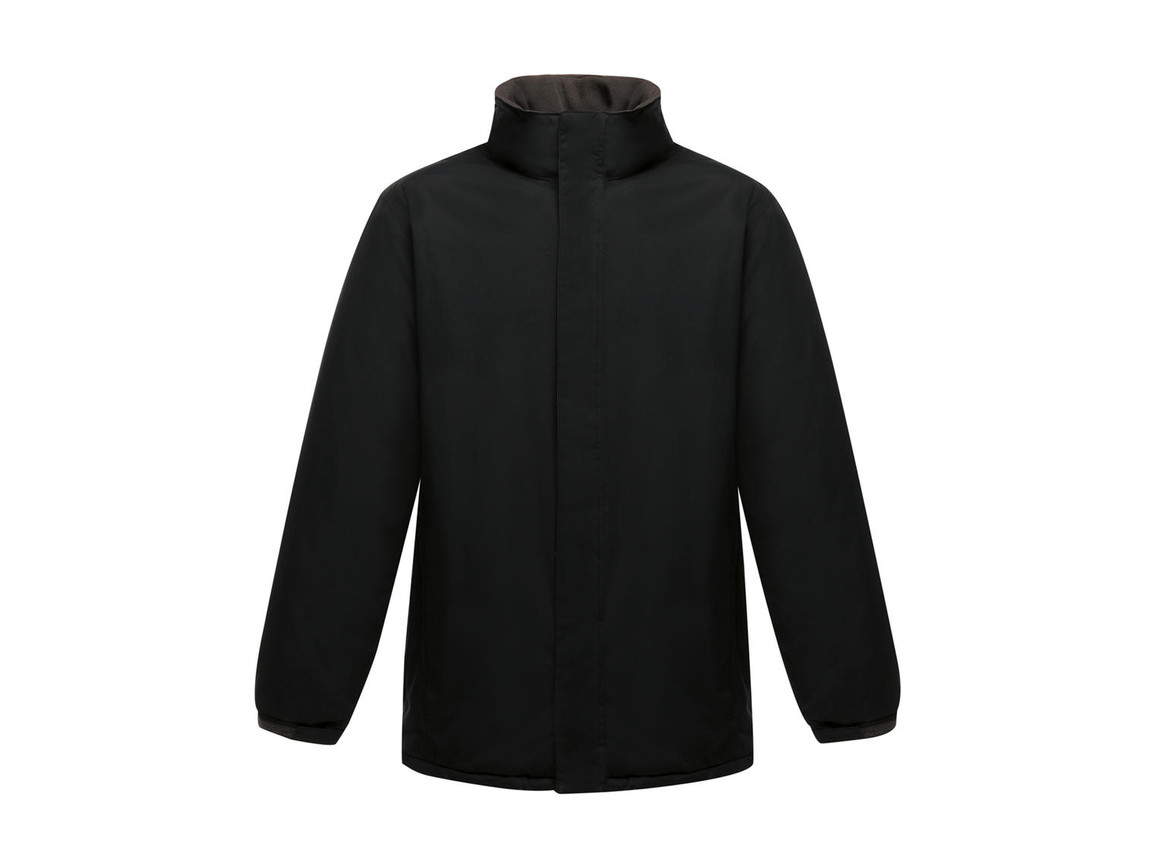 Regatta Aledo Waterproof Insulated Jacket, Black/Seal Grey, 3XL bedrucken, Art.-Nr. 468171518