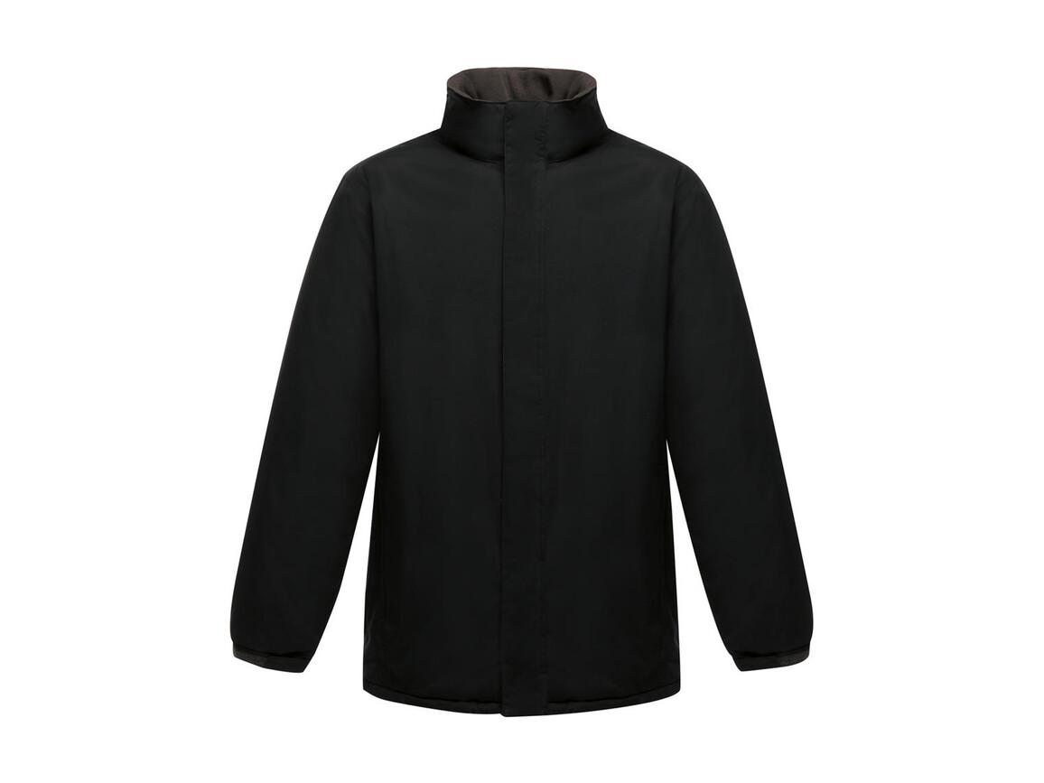 Regatta Aledo Waterproof Insulated Jacket, Black/Seal Grey, XL bedrucken, Art.-Nr. 468171516