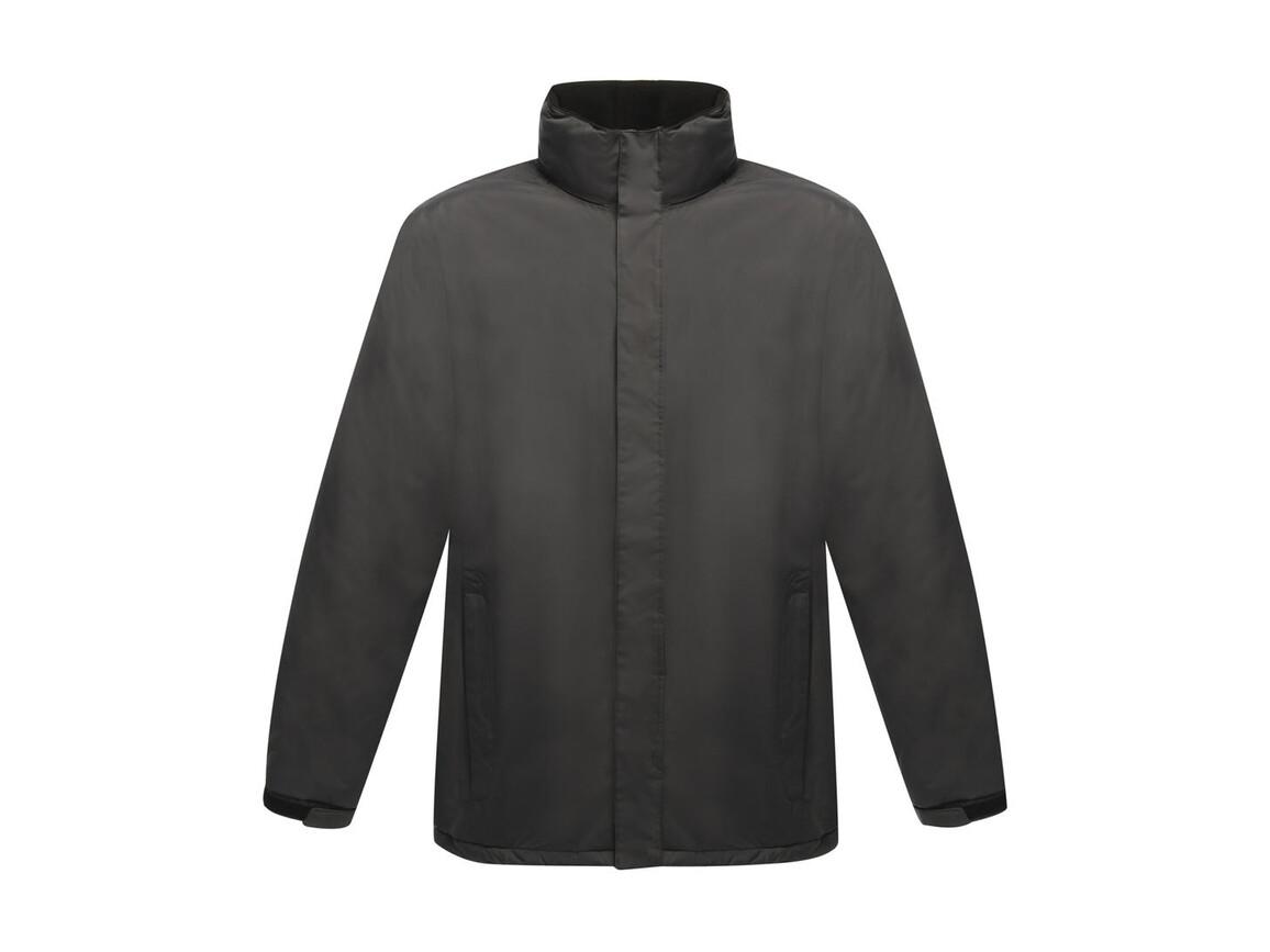 Regatta Aledo Waterproof Insulated Jacket, Seal Grey/Black, L bedrucken, Art.-Nr. 468171585
