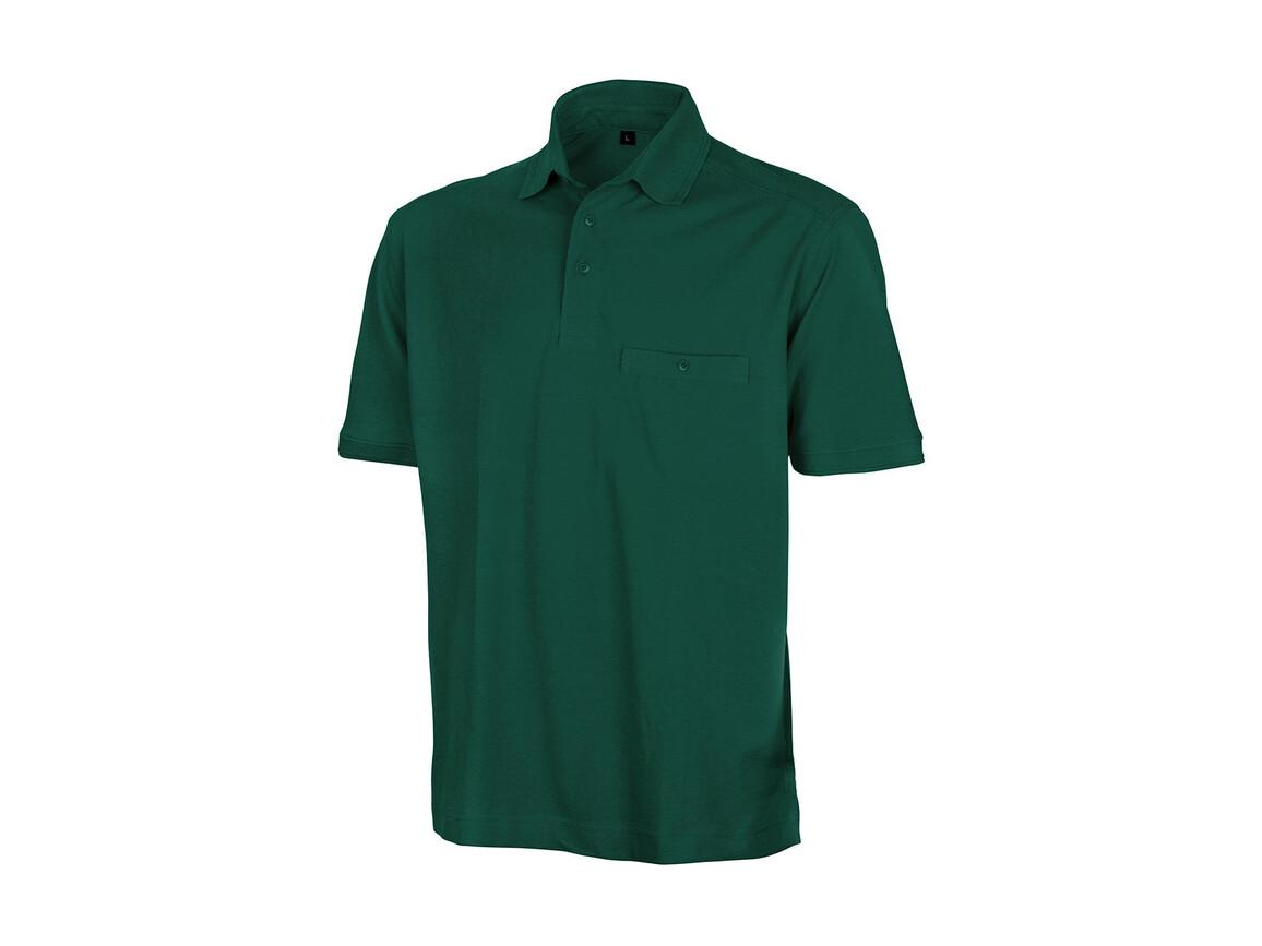 Result Apex Polo Shirt, Bottle Green, M bedrucken, Art.-Nr. 500335403