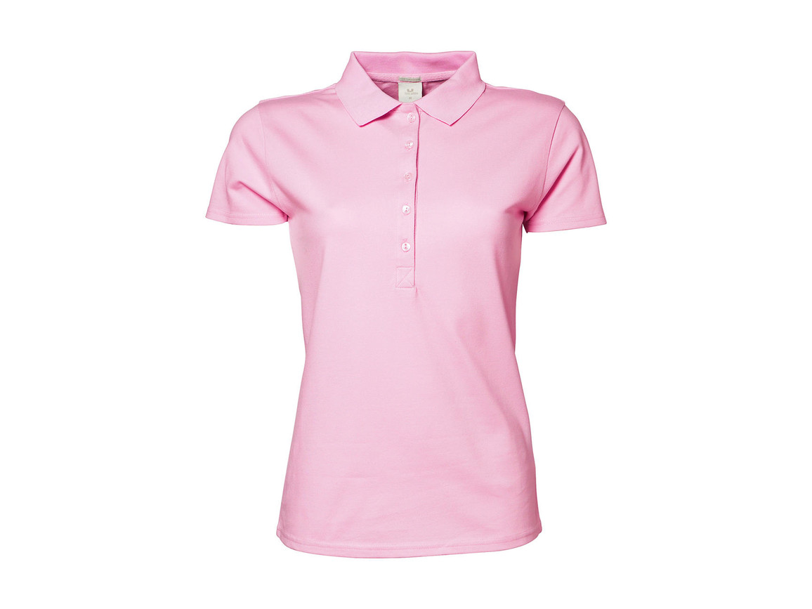 Tee Jays Ladies` Luxury Stretch Polo, Light Pink, S bedrucken, Art.-Nr. 513544203
