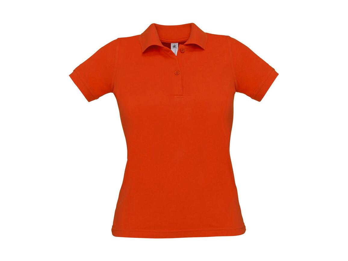 B & C Safran Pure/women Polo, Pumpkin Orange, S bedrucken, Art.-Nr. 526424123