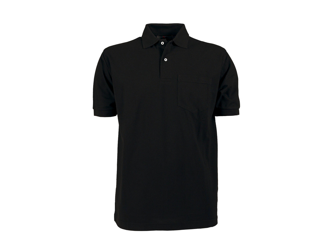 Tee Jays Pocket Polo, Black, XL bedrucken, Art.-Nr. 545541015
