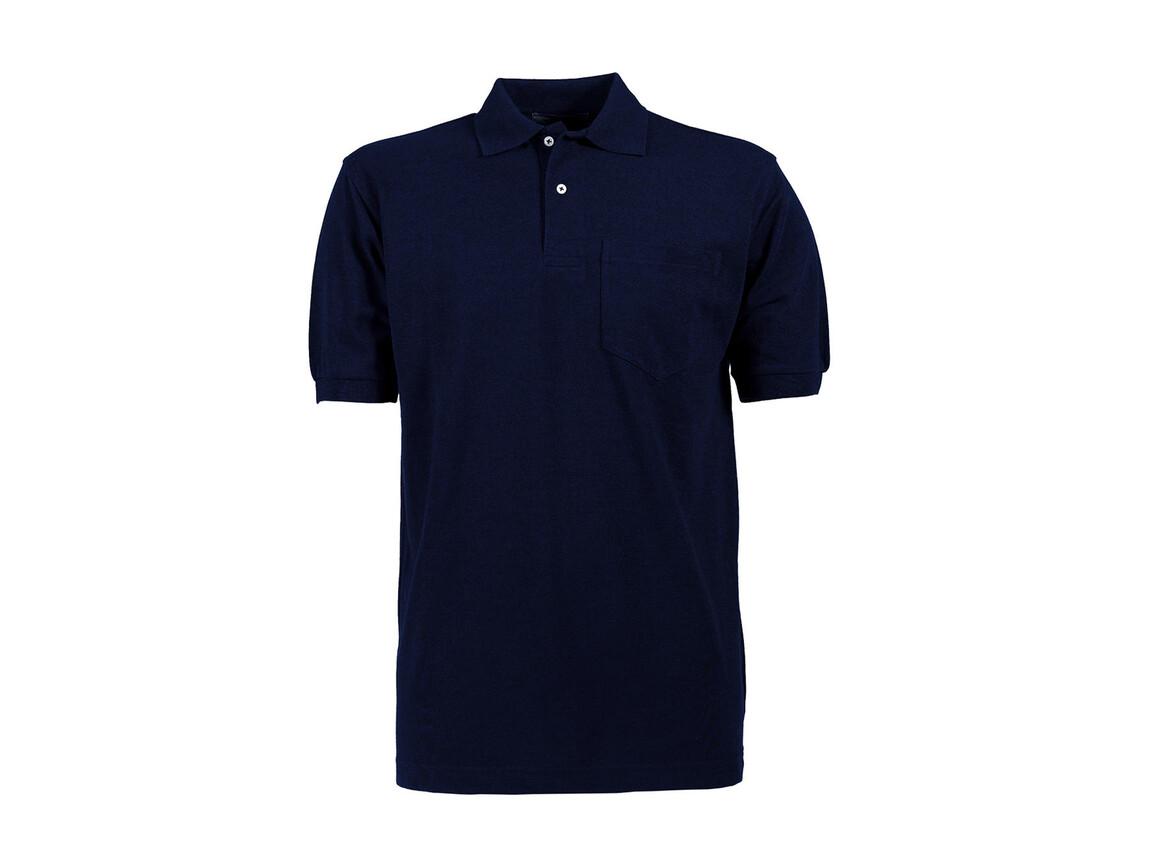 Tee Jays Pocket Polo, Navy, 3XL bedrucken, Art.-Nr. 545542007