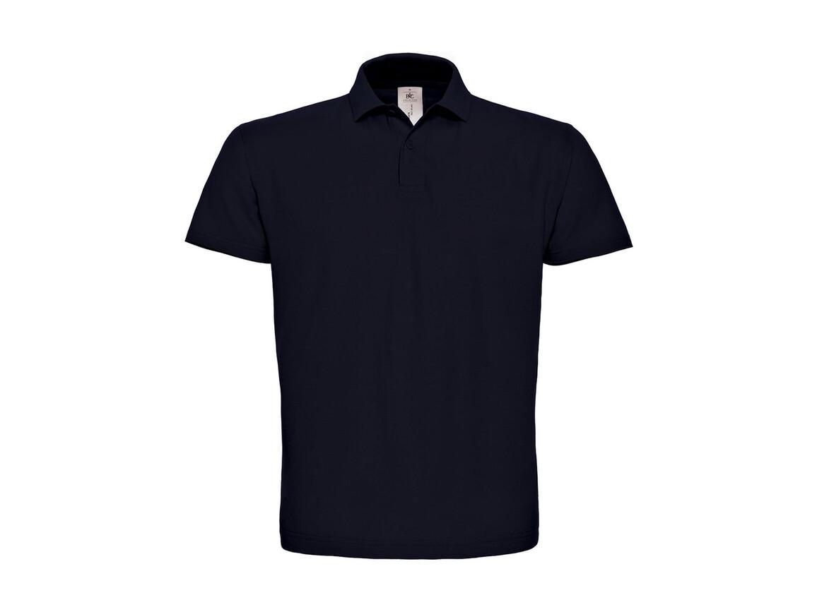 B & C ID.001 Piqué Polo Shirt, Navy, 2XL bedrucken, Art.-Nr. 548422007
