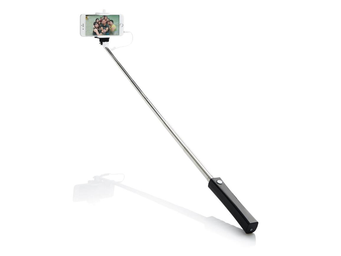 """""""Selfie"""" Stick mit Kabel bedrucken, Art.-Nr. P301.541"""