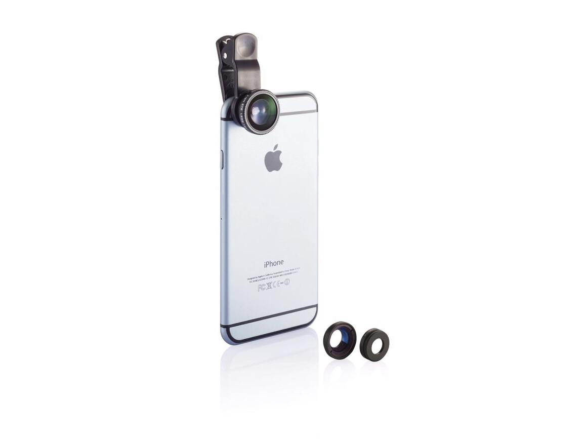 3tlg. Linsenset für mobile Geräte bedrucken, Art.-Nr. P301.881