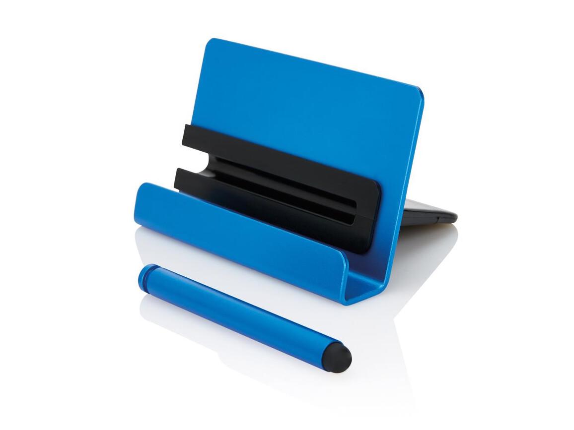 Aluminium Handyhalter mit Touch Pen bedrucken, Art.-Nr. P325.995