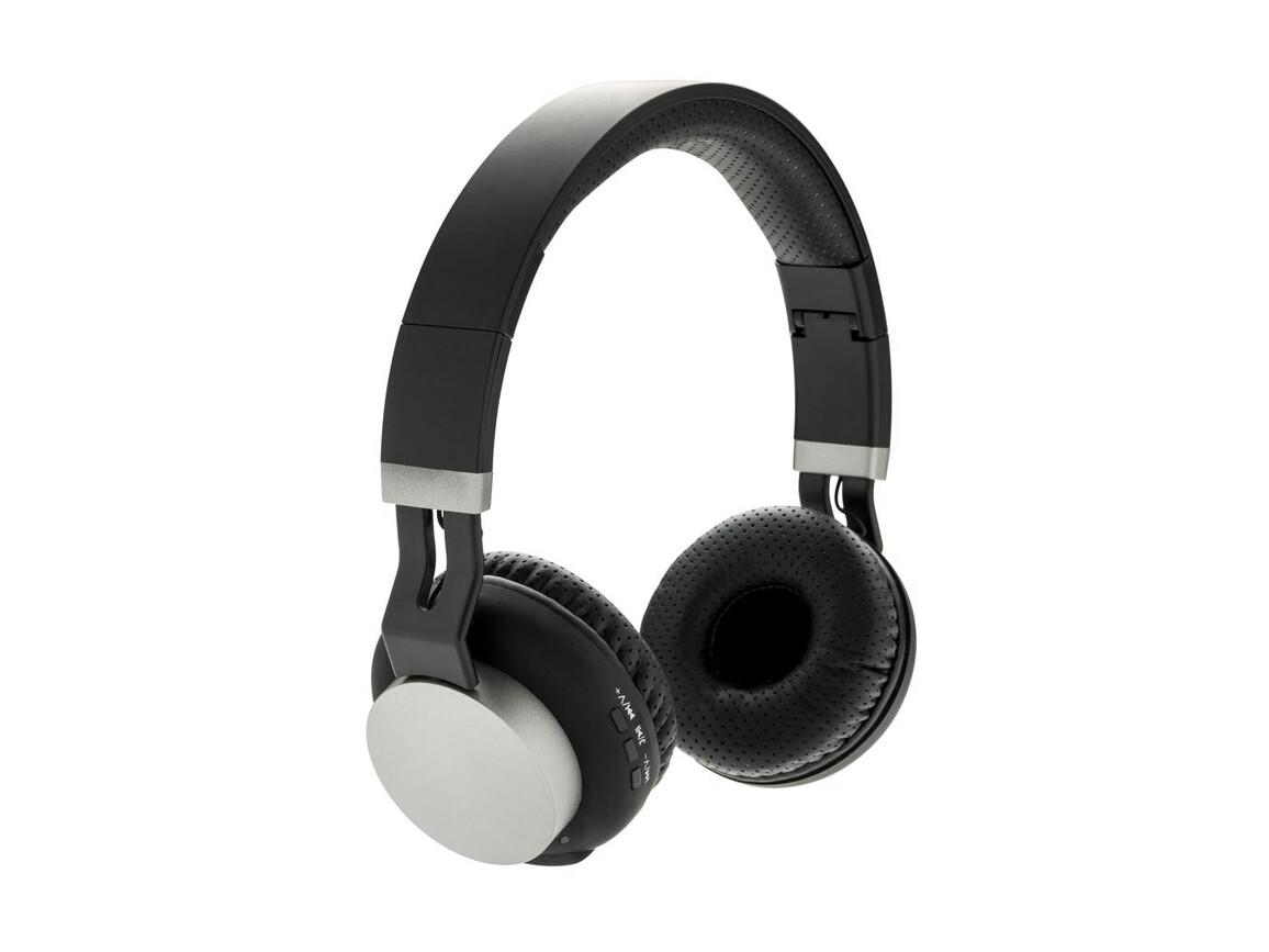 Fusion Wireless Kopfhörer schwarz bedrucken, Art.-Nr. P326.343