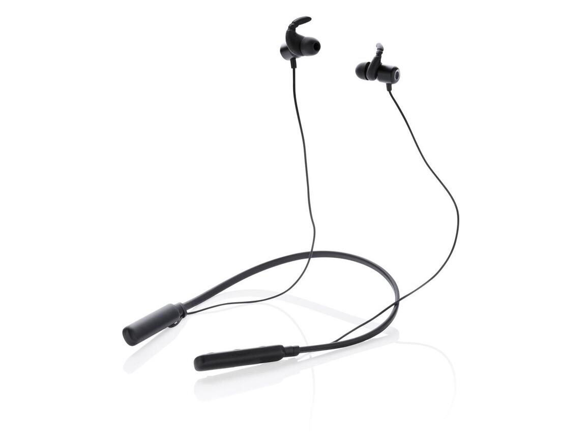 Axl Kopfhörer mit Nackenband schwarz bedrucken, Art.-Nr. P328.181
