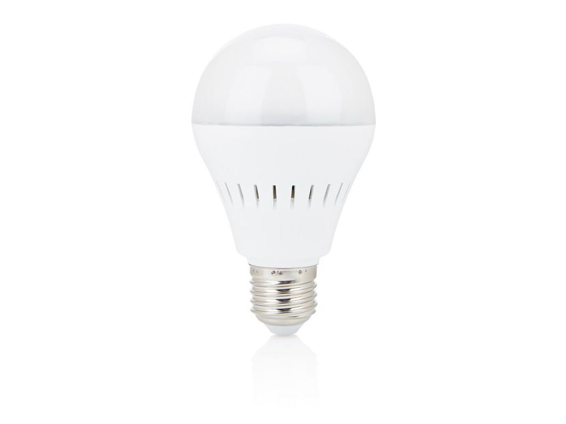 Smart Glühbirne mit BT Lautsprecher weiß bedrucken, Art.-Nr. P330.083
