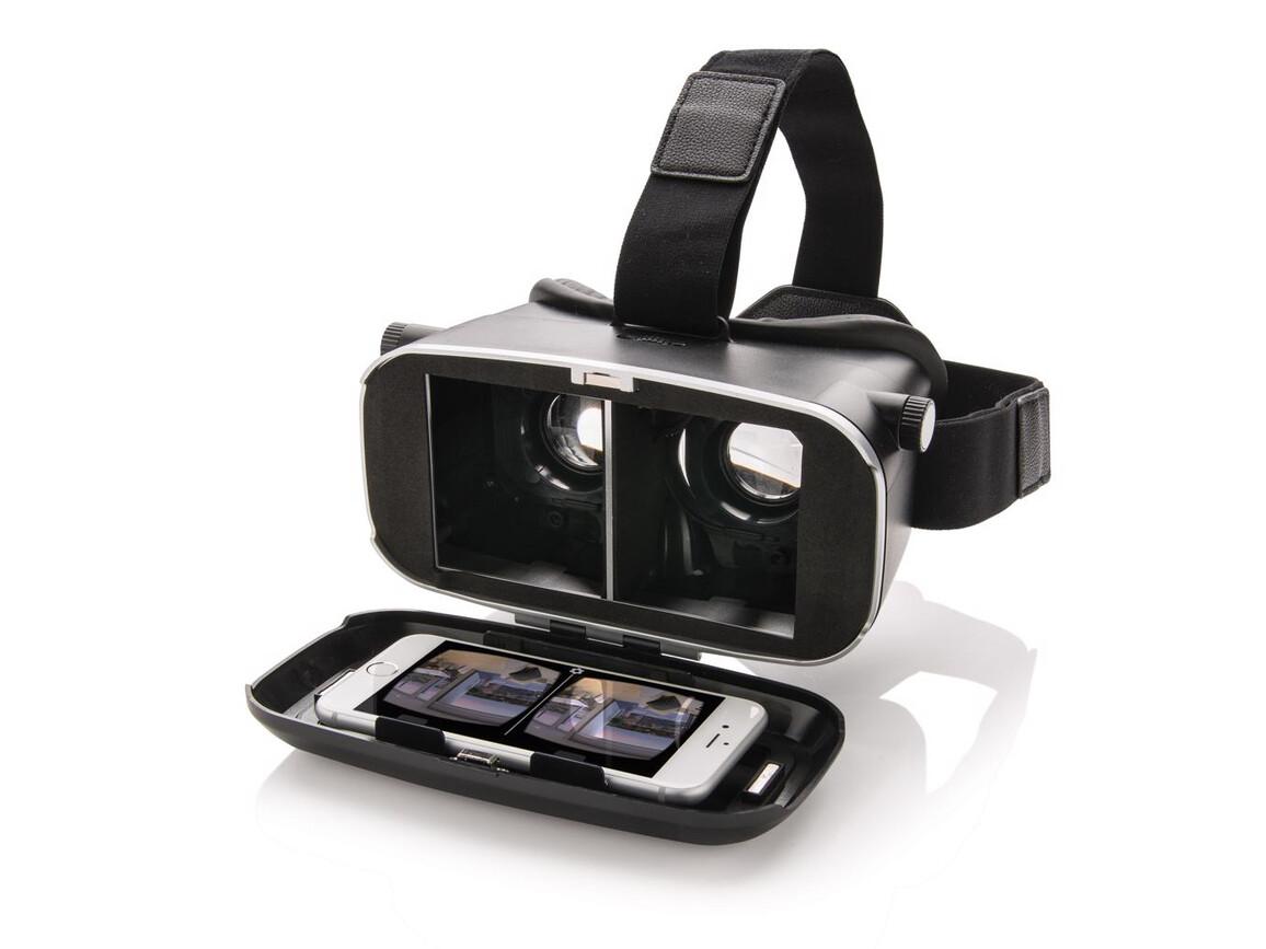 VR Brille 3D Box schwarz bedrucken, Art.-Nr. P330.401