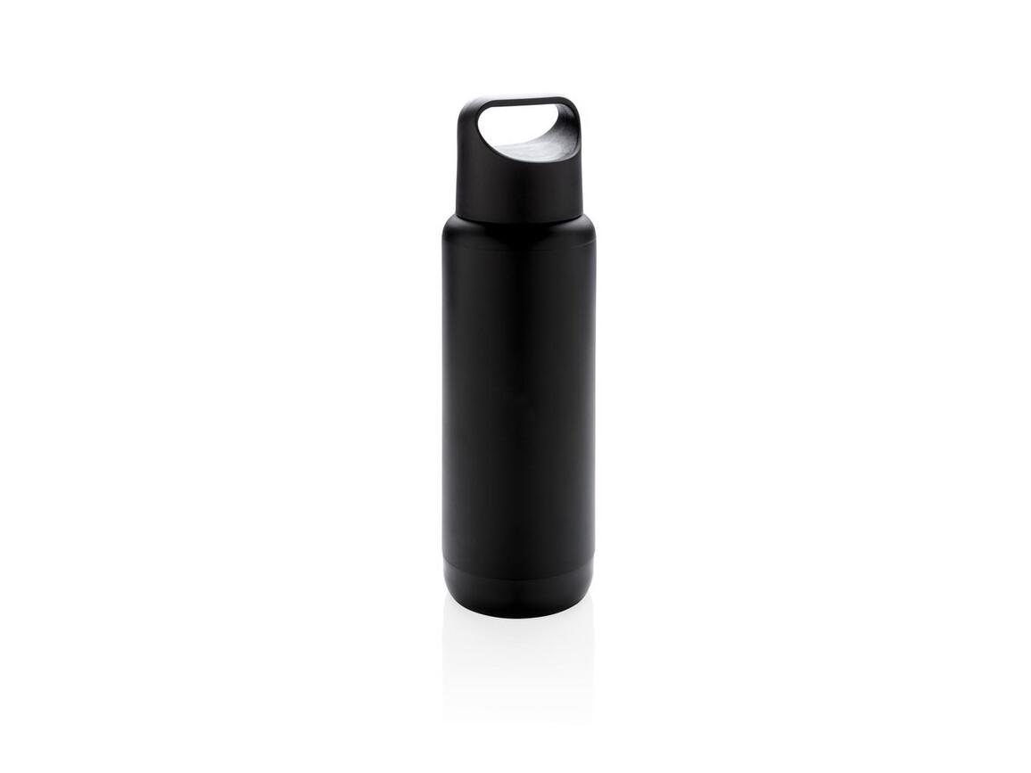 Flasche mit leuchtendem Logo schwarz bedrucken, Art.-Nr. P433.251