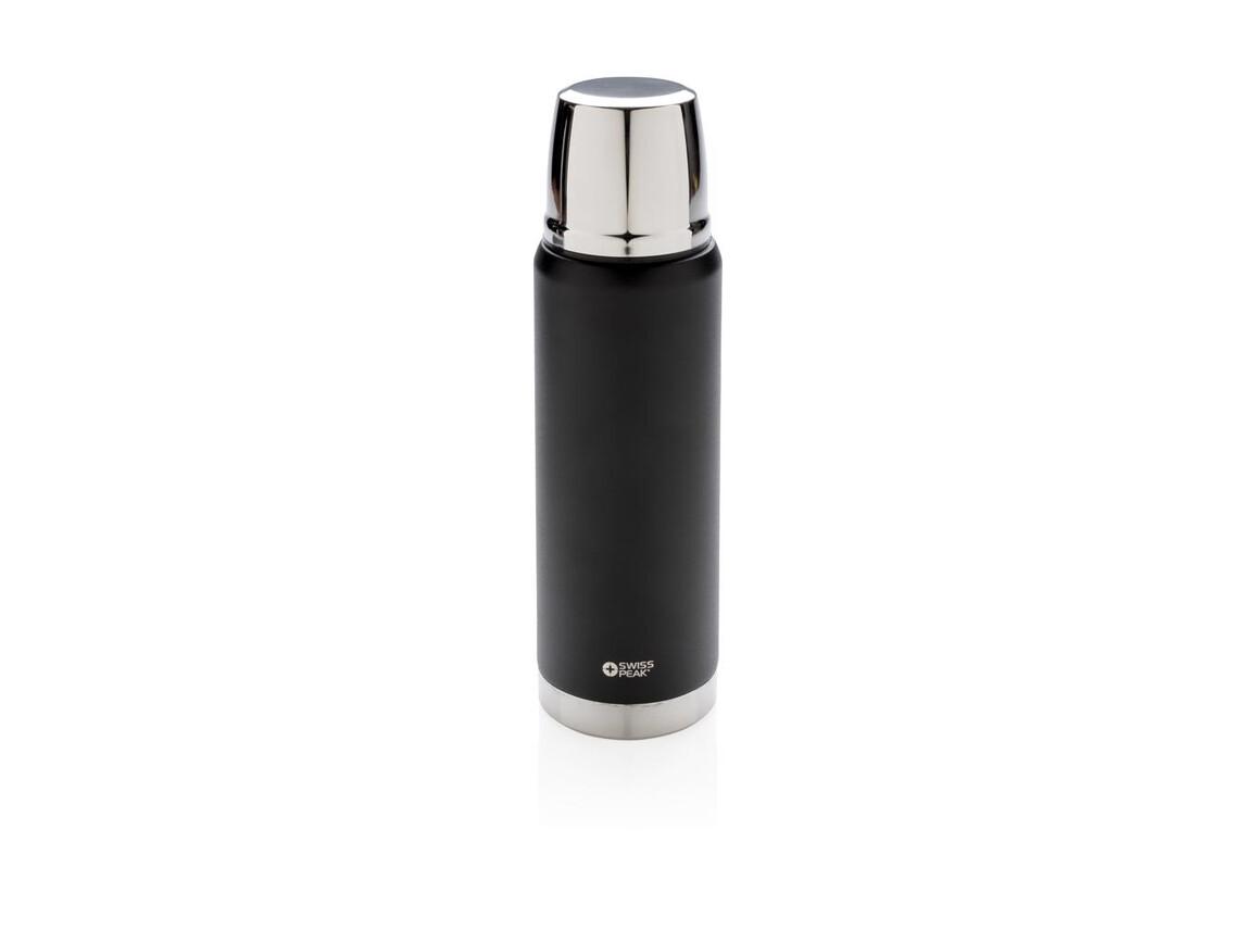 Swiss Peak Elite 0.5l Kupfer Vakuum Flasche schwarz bedrucken, Art.-Nr. P433.351