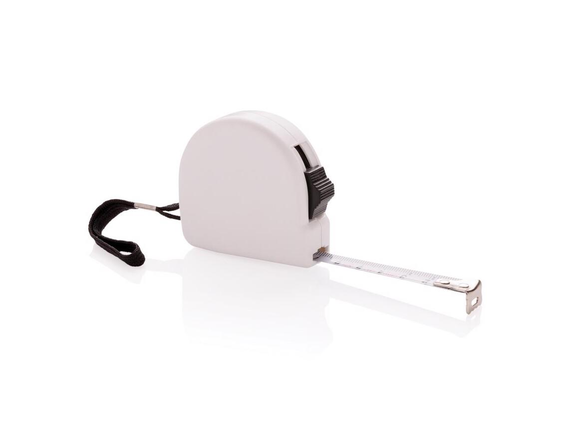 3m Maßband aus ABS weiß bedrucken, Art.-Nr. P112.343