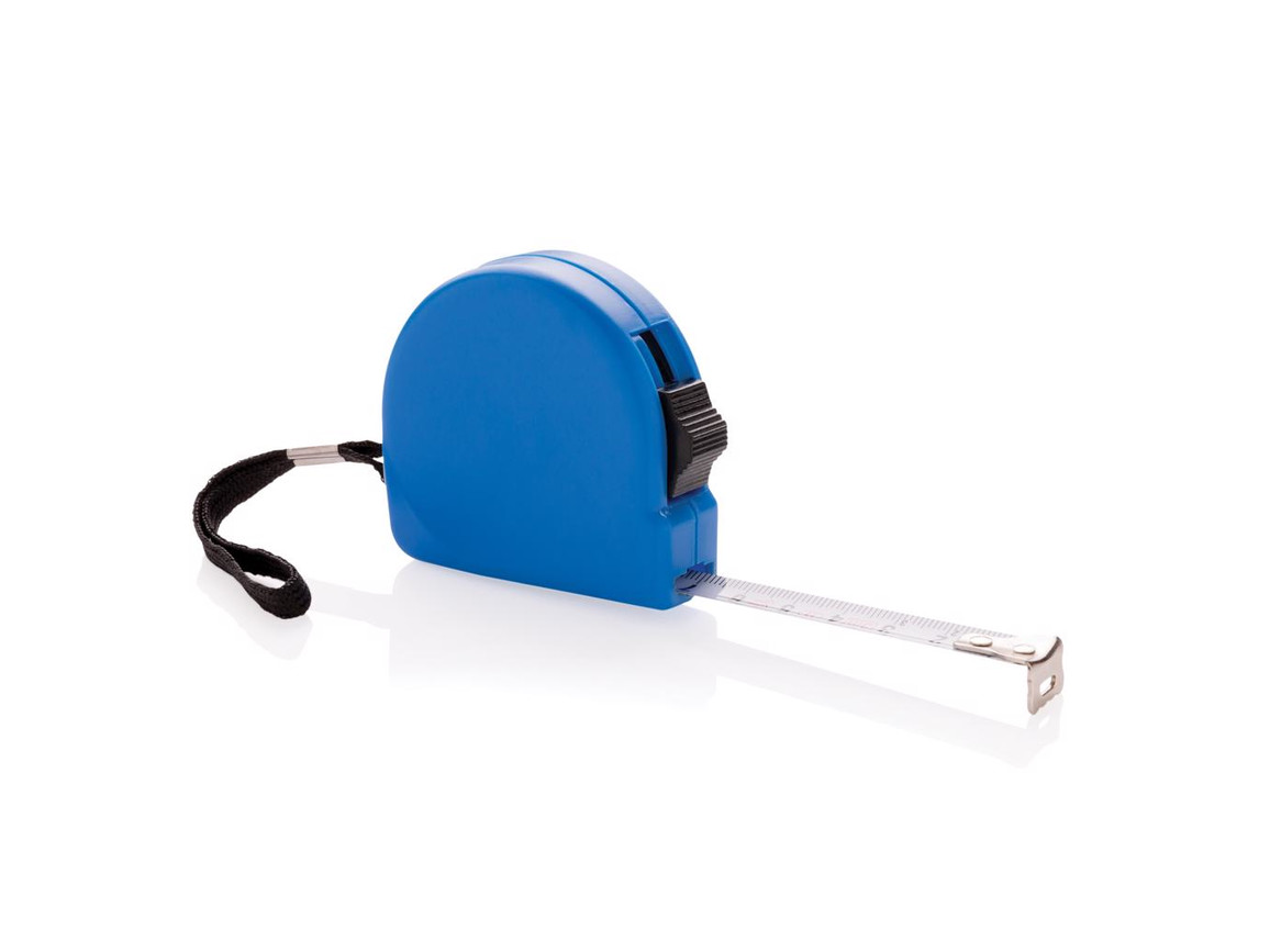 3m Maßband aus ABS blau bedrucken, Art.-Nr. P112.345