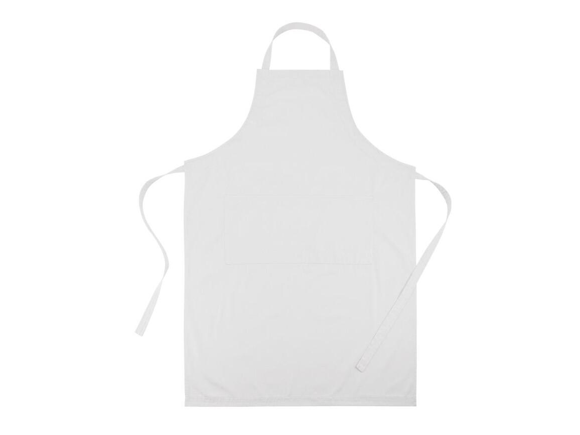 Küchenschürze weiß bedrucken, Art.-Nr. P262.713