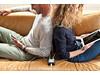 USB Auflader mit 6 Anschlüssen schwarz, weiß bedrucken, Art.-Nr. P308.991