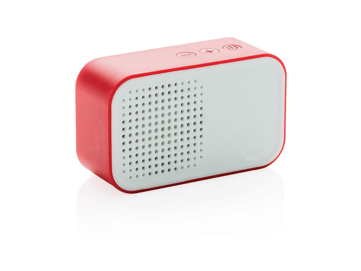 Melody Wireless Lautsprecher rot bedrucken, Art.-Nr. P326.144