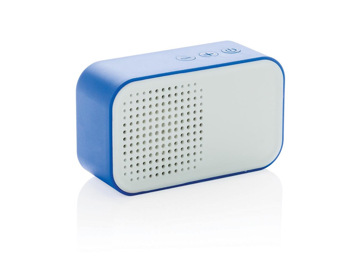 Melody Wireless Lautsprecher blau bedrucken, Art.-Nr. P326.145