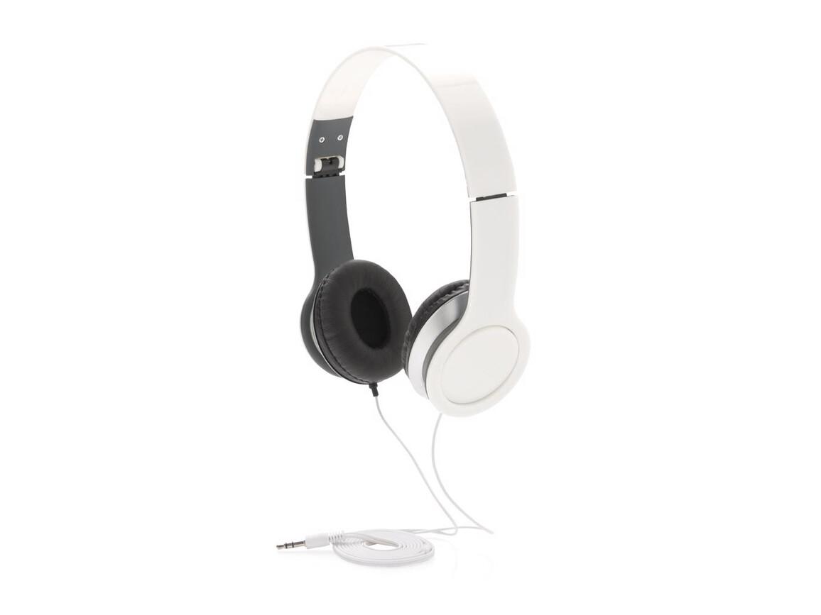 Basic Kopfhörer weiß bedrucken, Art.-Nr. P326.903