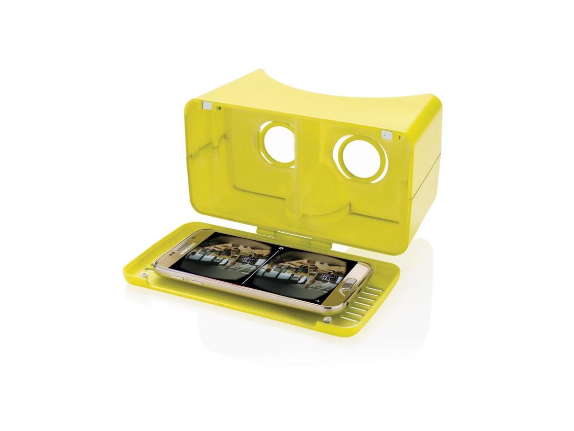 einstellbare VR-Brille limone bedrucken, Art.-Nr. P330.177