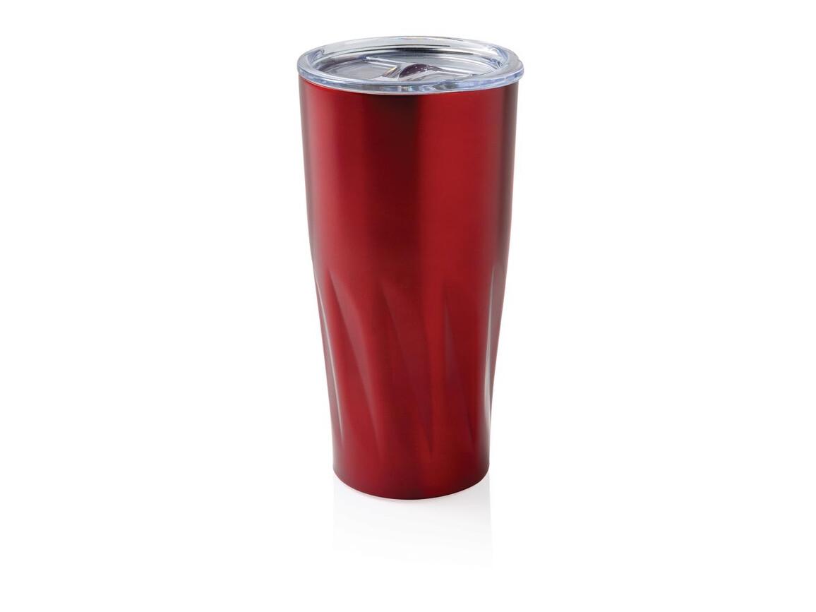 Kupfer-Vakuum Isolierbecher rot bedrucken, Art.-Nr. P432.864