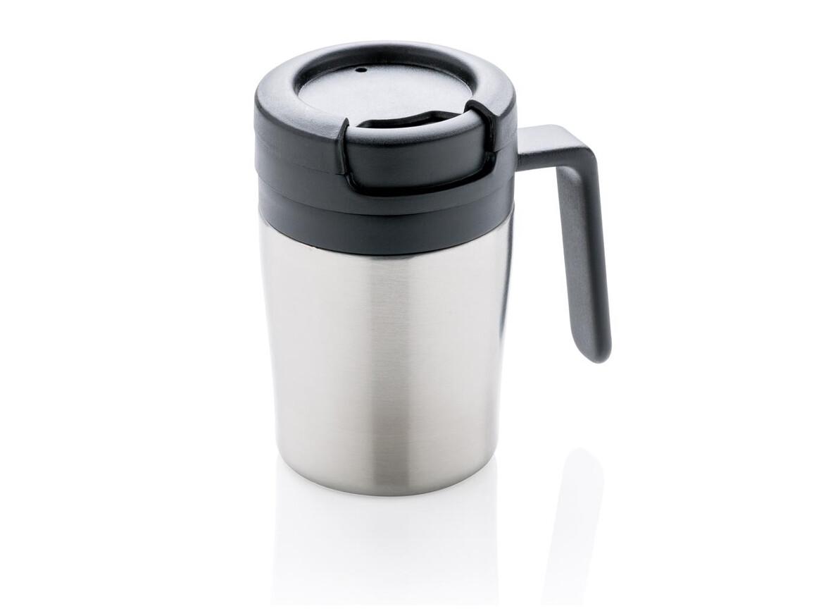 Coffee to go Tasse silber bedrucken, Art.-Nr. P432.942