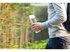 Neva Wasserflasche weiß, grau bedrucken, Art.-Nr. P436.063
