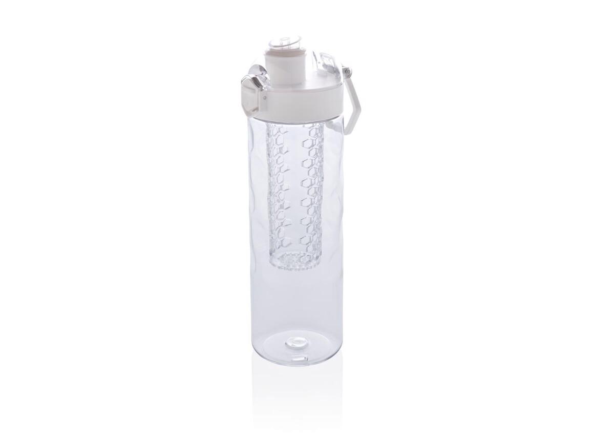 Honeycomb verschließbare, auslaufsichere Aromaflasche weiß bedrucken, Art.-Nr. P436.263