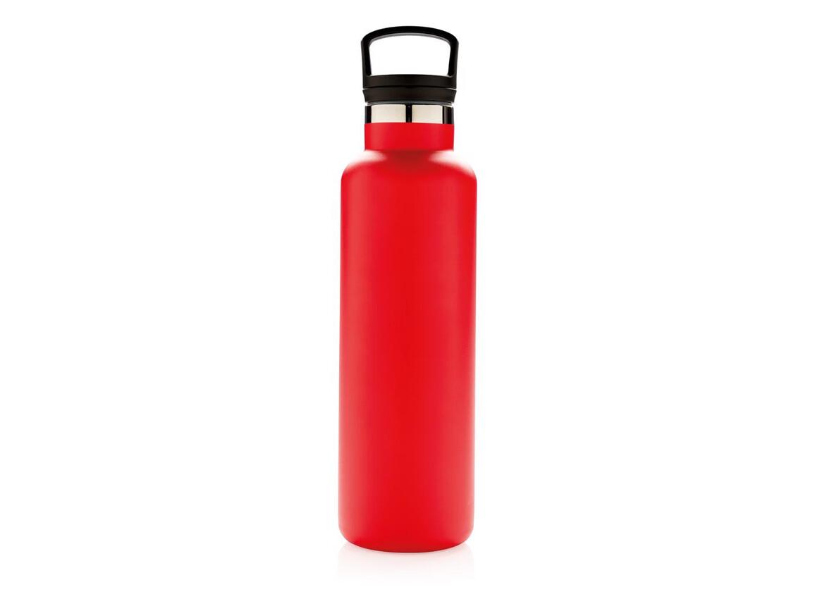 Auslaufsichere Vakuumflasche rot bedrucken, Art.-Nr. P436.664