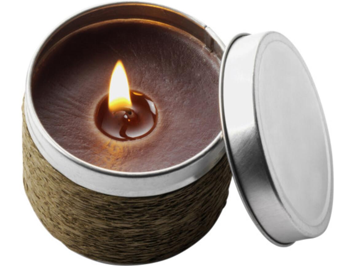 Duftkerzen 'Glow' – Braun bedrucken, Art.-Nr. 011999999_1361