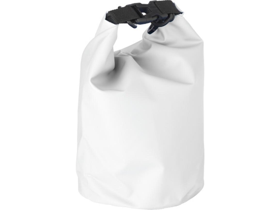 Strandtasche 'River' aus PVC – Weiß bedrucken, Art.-Nr. 002999999_1877