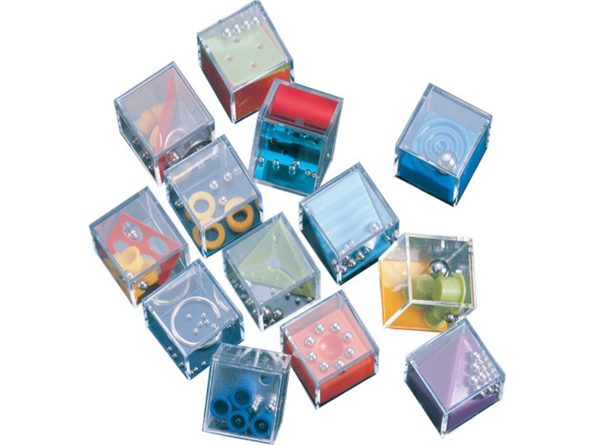Geduldsspiel-Set 'Mikro' aus Kunststoff – Neutral bedrucken, Art.-Nr. 999999999_2324