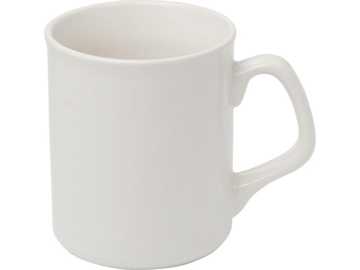 Becher 'Basic' aus Porzellan – Weiß bedrucken, Art.-Nr. 002999999_2834