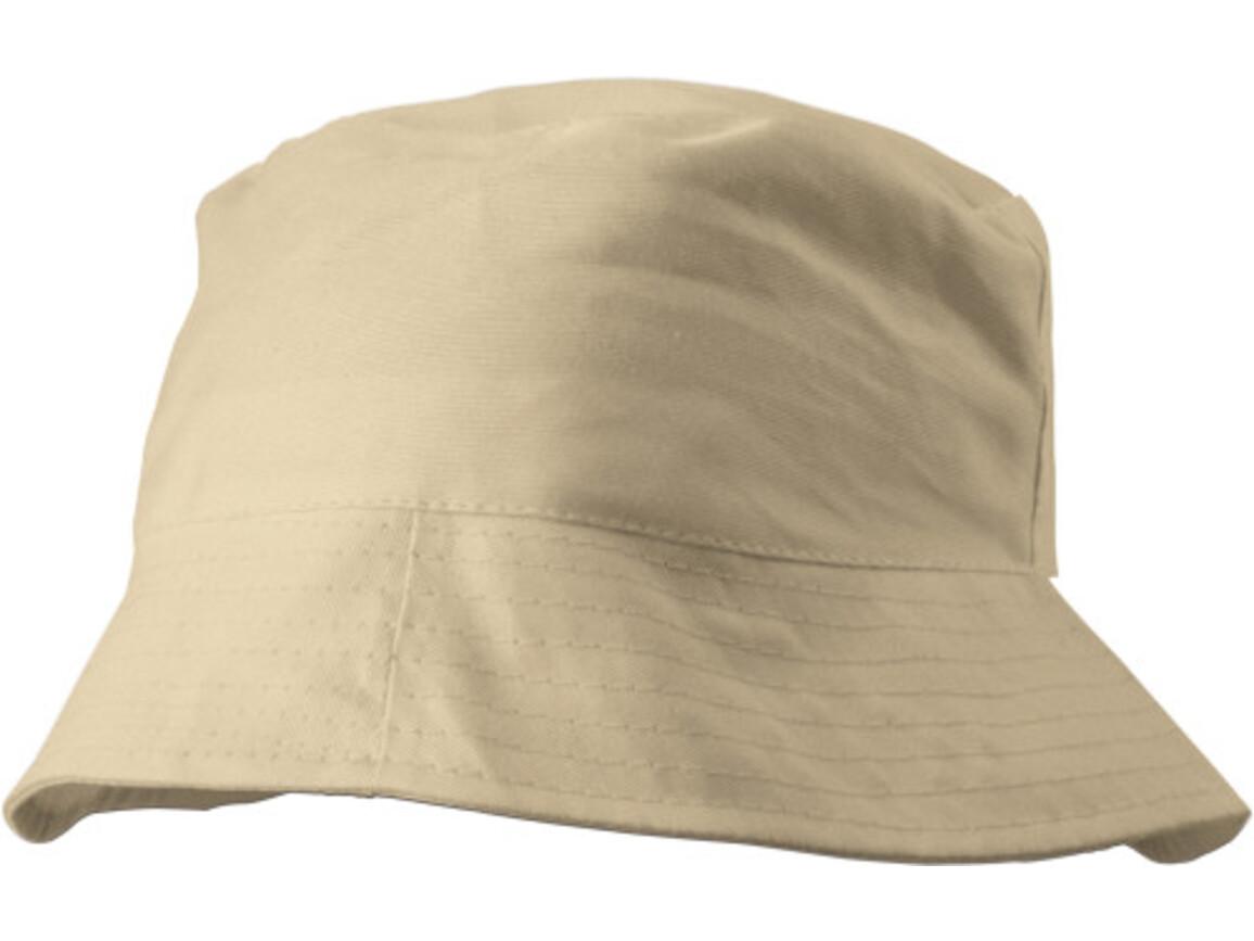 Sonnenhut 'Safari' aus 100% Baumwolle – Khaki bedrucken, Art.-Nr. 013999999_3826