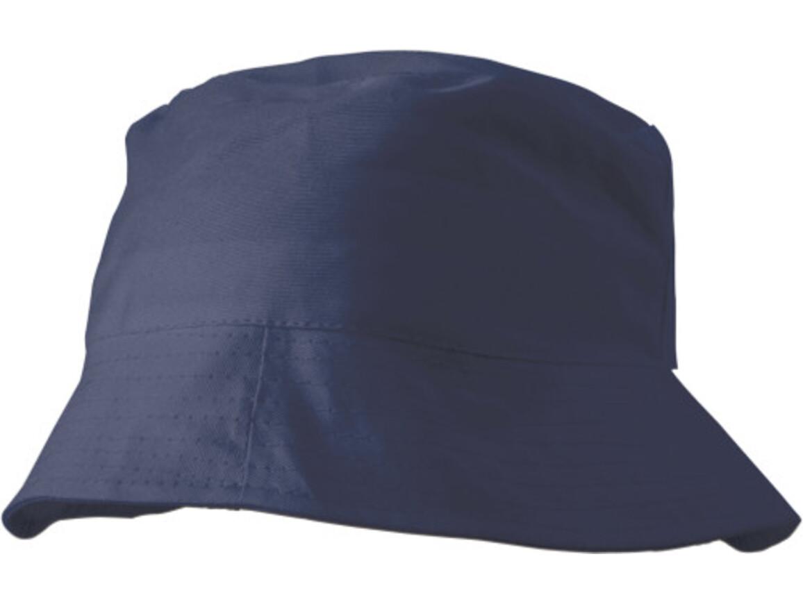 Sonnenhut 'Safari' aus 100% Baumwolle – Blau bedrucken, Art.-Nr. 005999999_3826