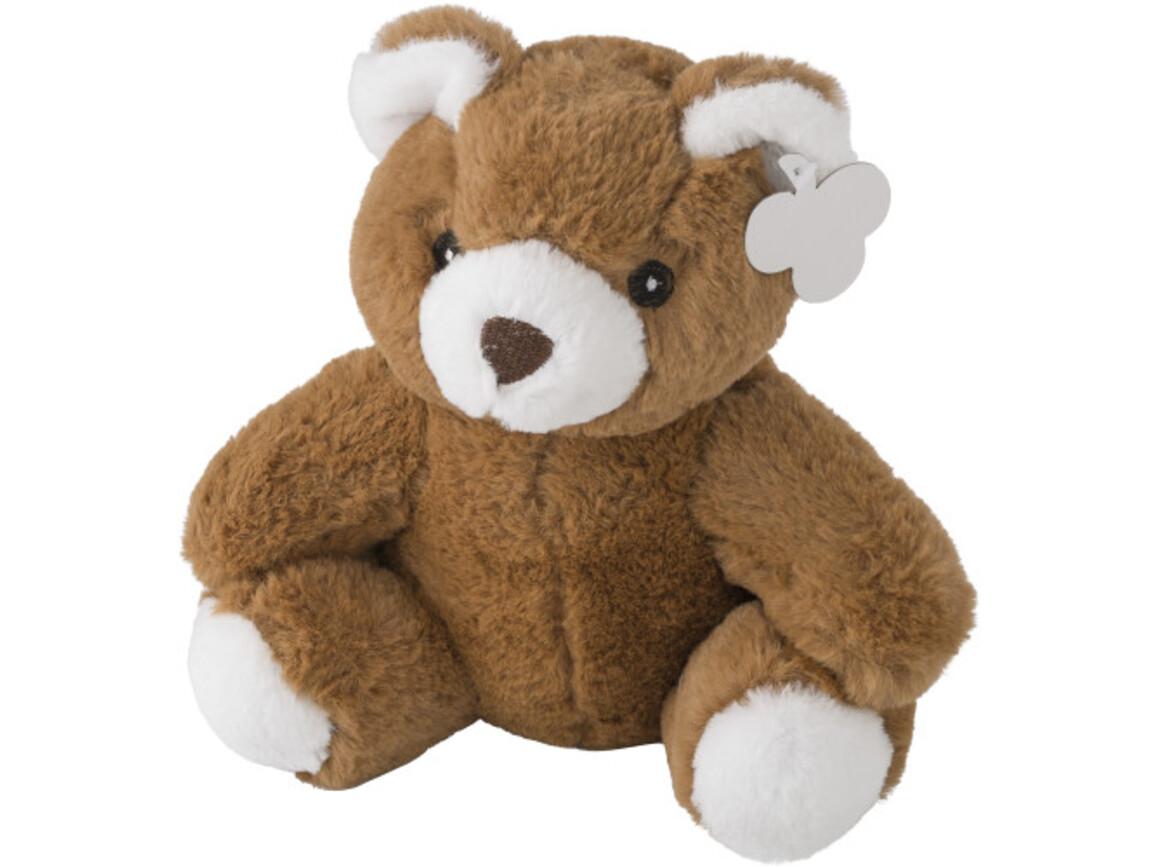Plüsch-Teddy-Bär 'Barny' ohne T-Shirt – Braun bedrucken, Art.-Nr. 011999999_5012