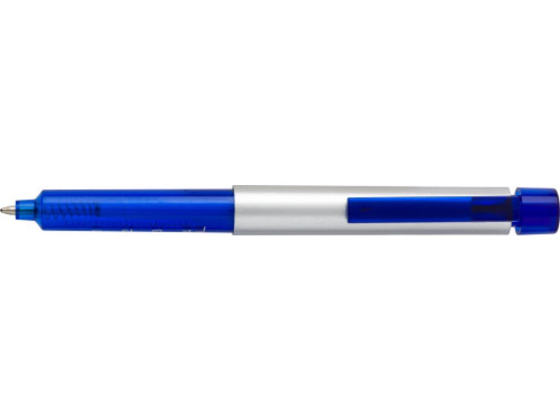 Kugelschreiber 'Schwester Hilde' aus Kunststoff – Blau bedrucken, Art.-Nr. 005999999_5495