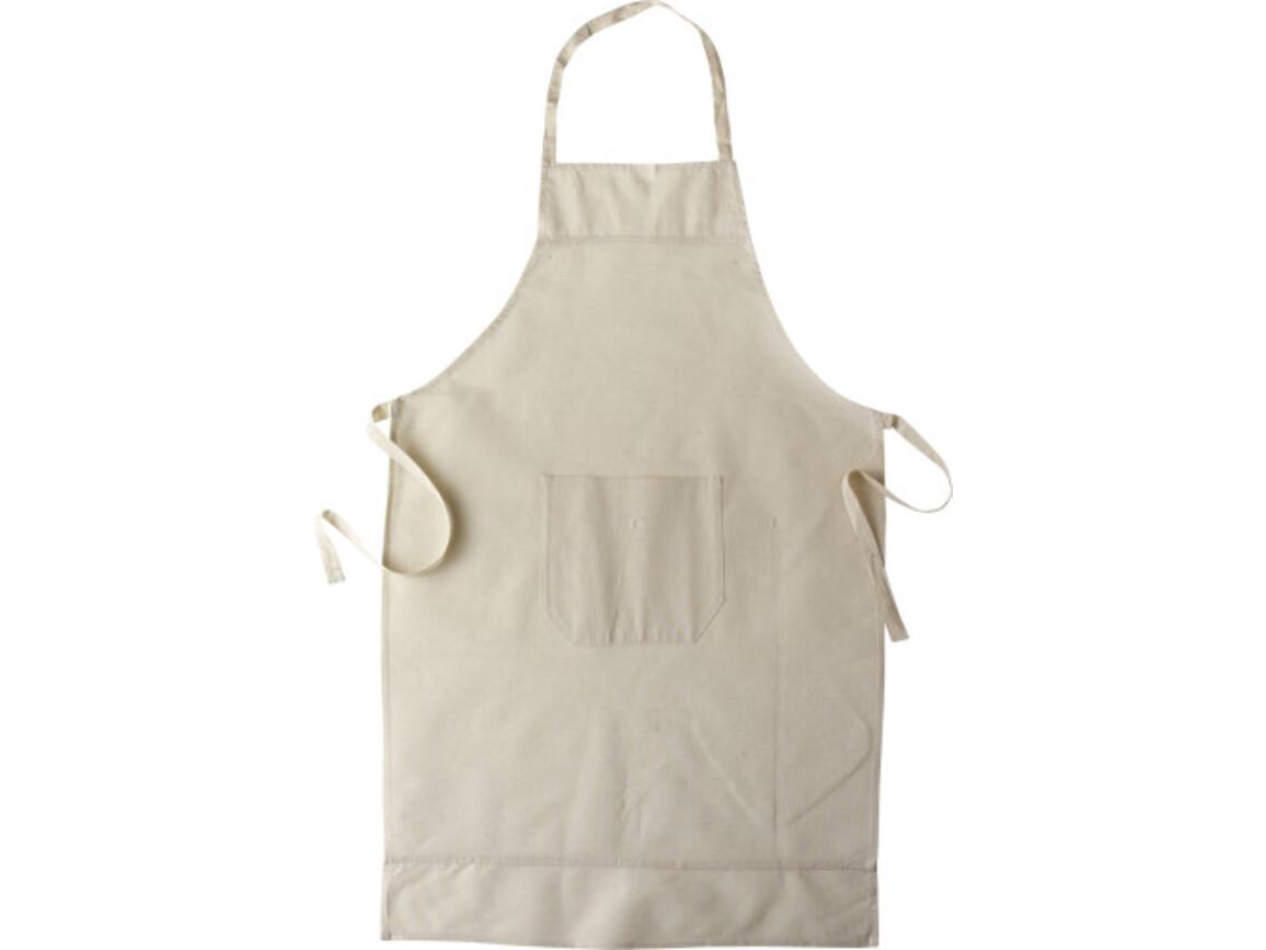 Küchen-Schürze 'Ottilie' aus Baumwolle – Khaki bedrucken, Art.-Nr. 013999999_6198