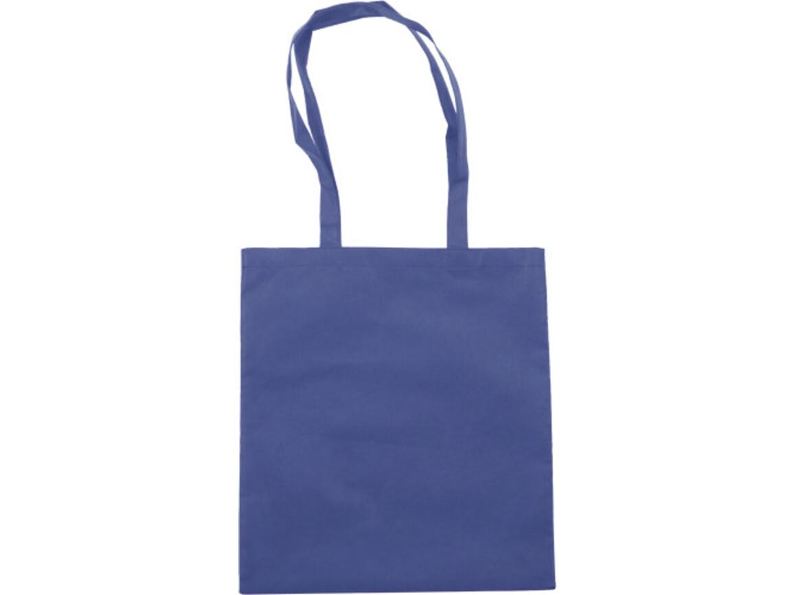 Einkaufstasche 'Berlin' aus Non-Woven – Blau bedrucken, Art.-Nr. 005999999_6227
