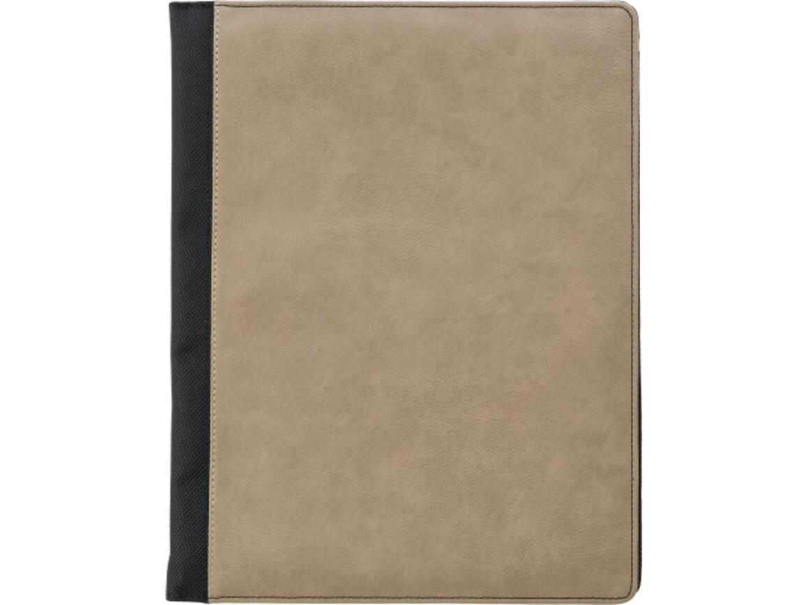 Konferenzmappe 'Excelsior' aus PU – Braun bedrucken, Art.-Nr. 011999999_7231