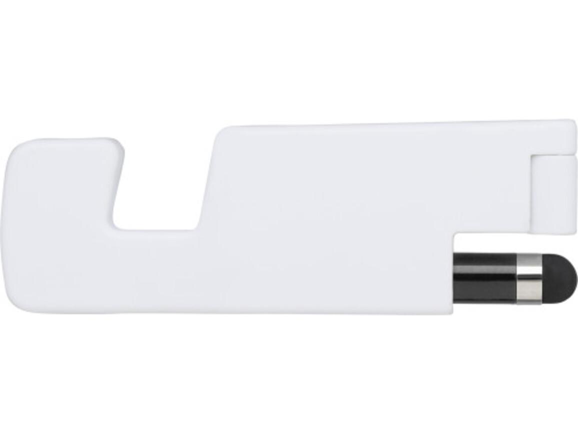 Handyhalter 'Basic' aus Kunststoff – Schwarz bedrucken, Art.-Nr. 001999999_7289